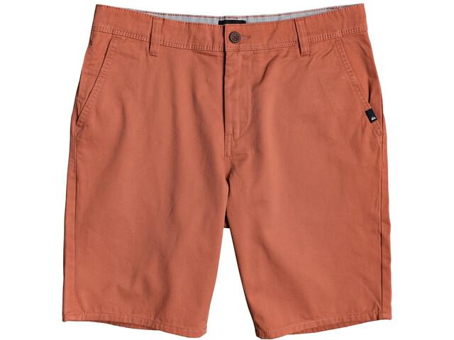 Quiksilver Everyday Light Chino Shorts Men redwood